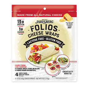 Folios Cheese Wraps - Jarlsberg 6oz